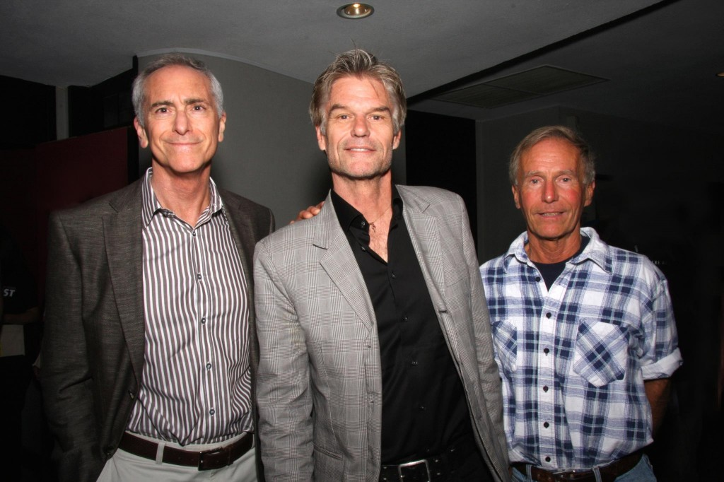 Scott Berg, Harry Hamlin, & Barry Sandler (Photo Courtesy of Angela Brinskele)