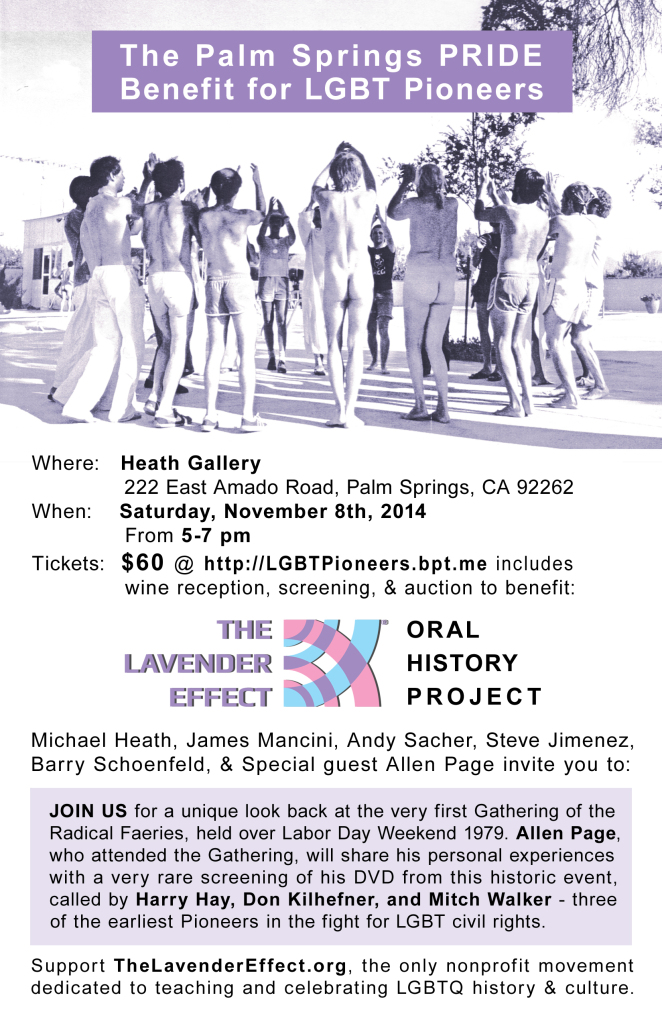 TLE OHP Benefit - PS PRIDE 2014